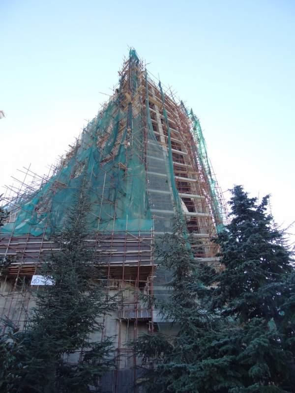 Harissa Basilica Renovation