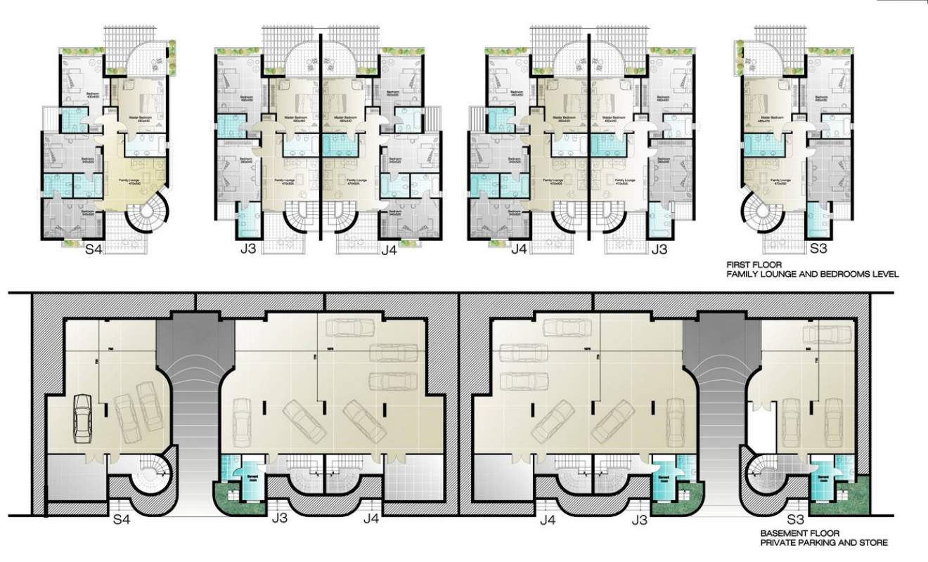 100 Family Compound Floor Plans Floor Plan Curbed