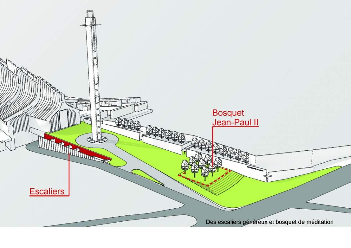Jean-Paul II Plaza