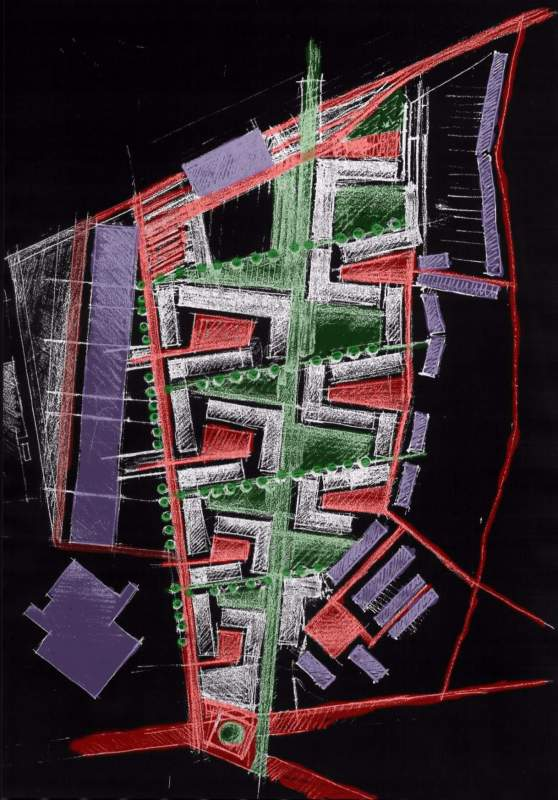 Epine Dorsale - Housing Project | Europan 5