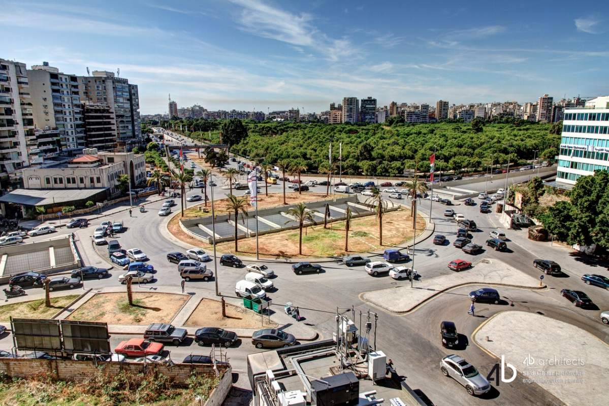 Tayouneh Roundabout and Underpass